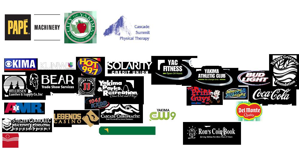 Yakima Valley Pirate Plunder Adventure Race Sponsors